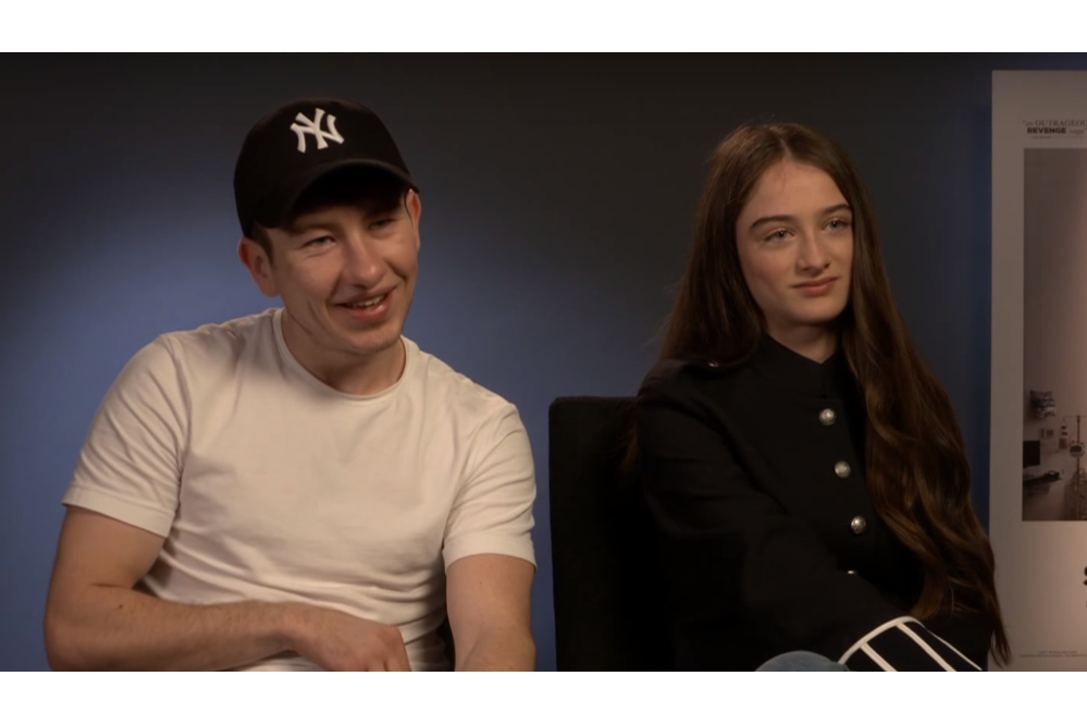 Barry Keoghan & Raffey Cassidy discuss The Killing of a Sacred Deer