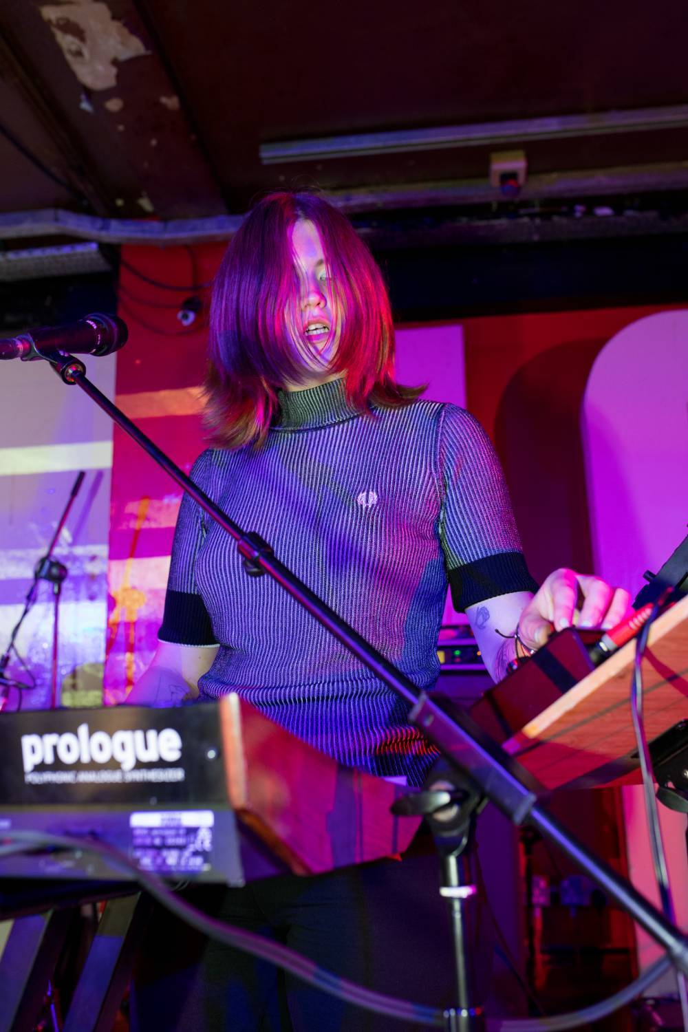 Get a glimpse of Fred Perry's recent All Our Tomorrows live shows