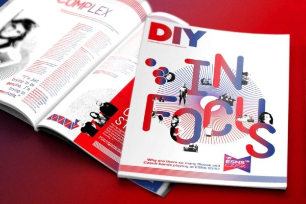 DIY teams up with Czech Republic & Slovakia for special In Focus ESNS magazine