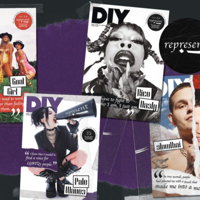 Goat Girl, Pale Waves, Rico Nasty & slowthai are all on the cover of DIY's February 2021 issue