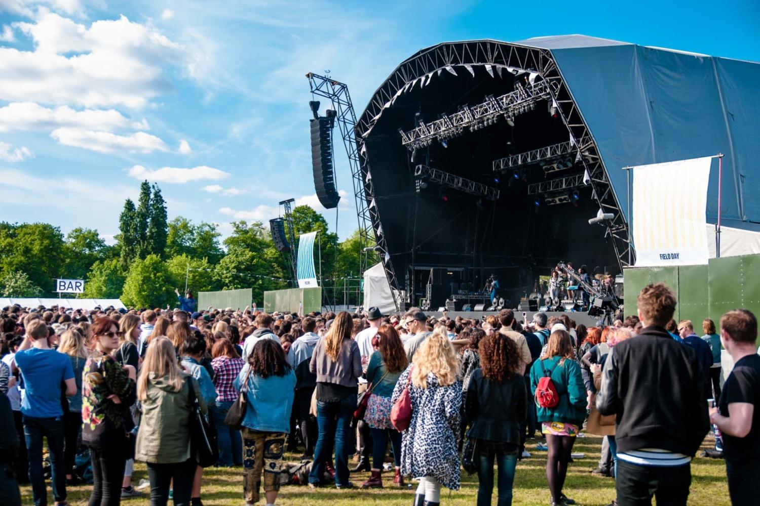 Arab Strap, PC Music, Thee Oh Sees and more join Field Day 2017