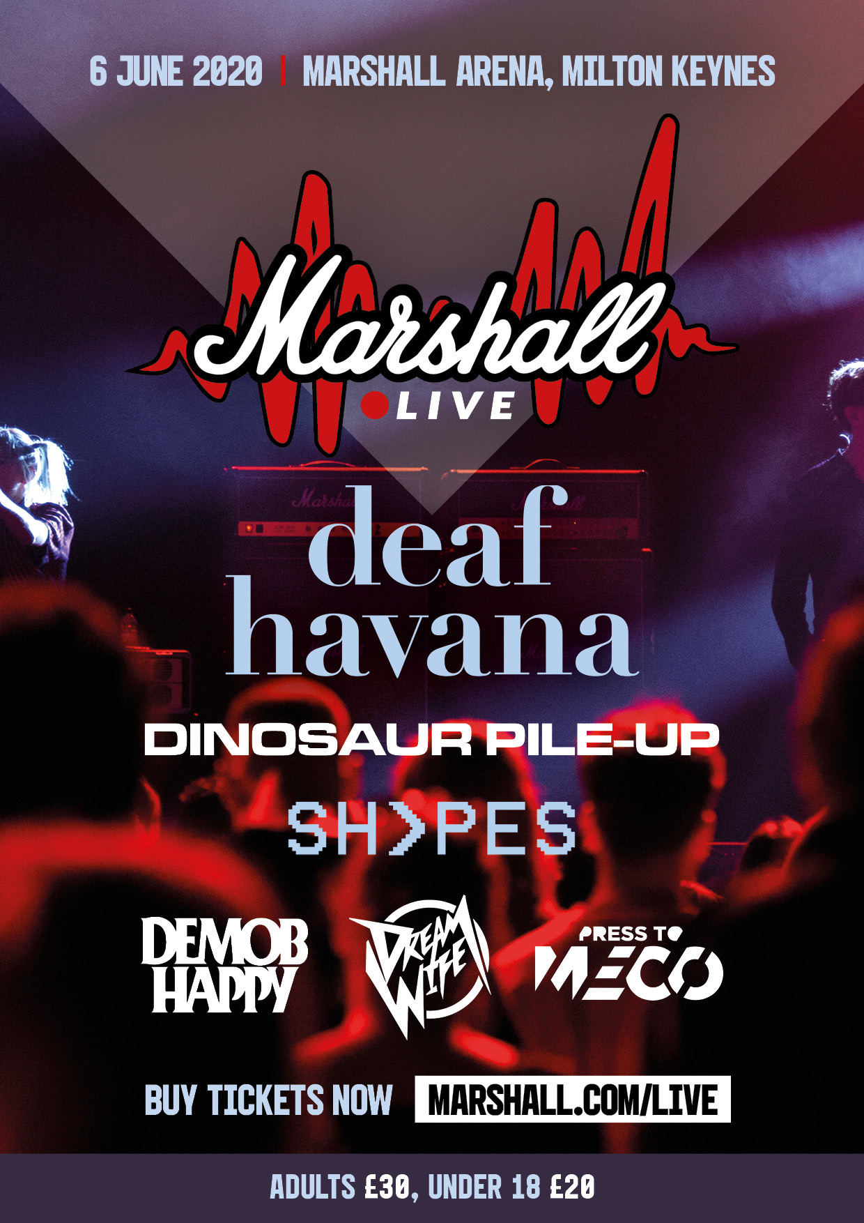 Demob Happy to play Marshall Live 2020 with Dream Wife, Deaf Havana & more
