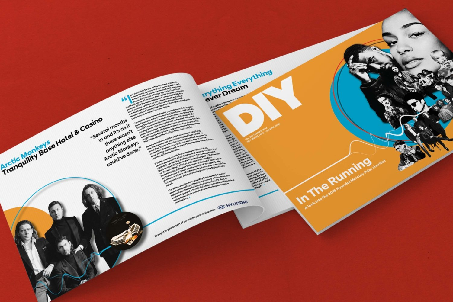 Presenting In The Running: a special DIY supplement for the 2018 Hyundai Mercury Prize