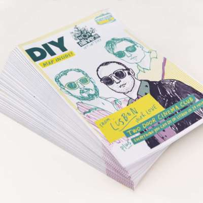 DIY teams up with NOS Alive 2018 for From Lisbon With Love zine
