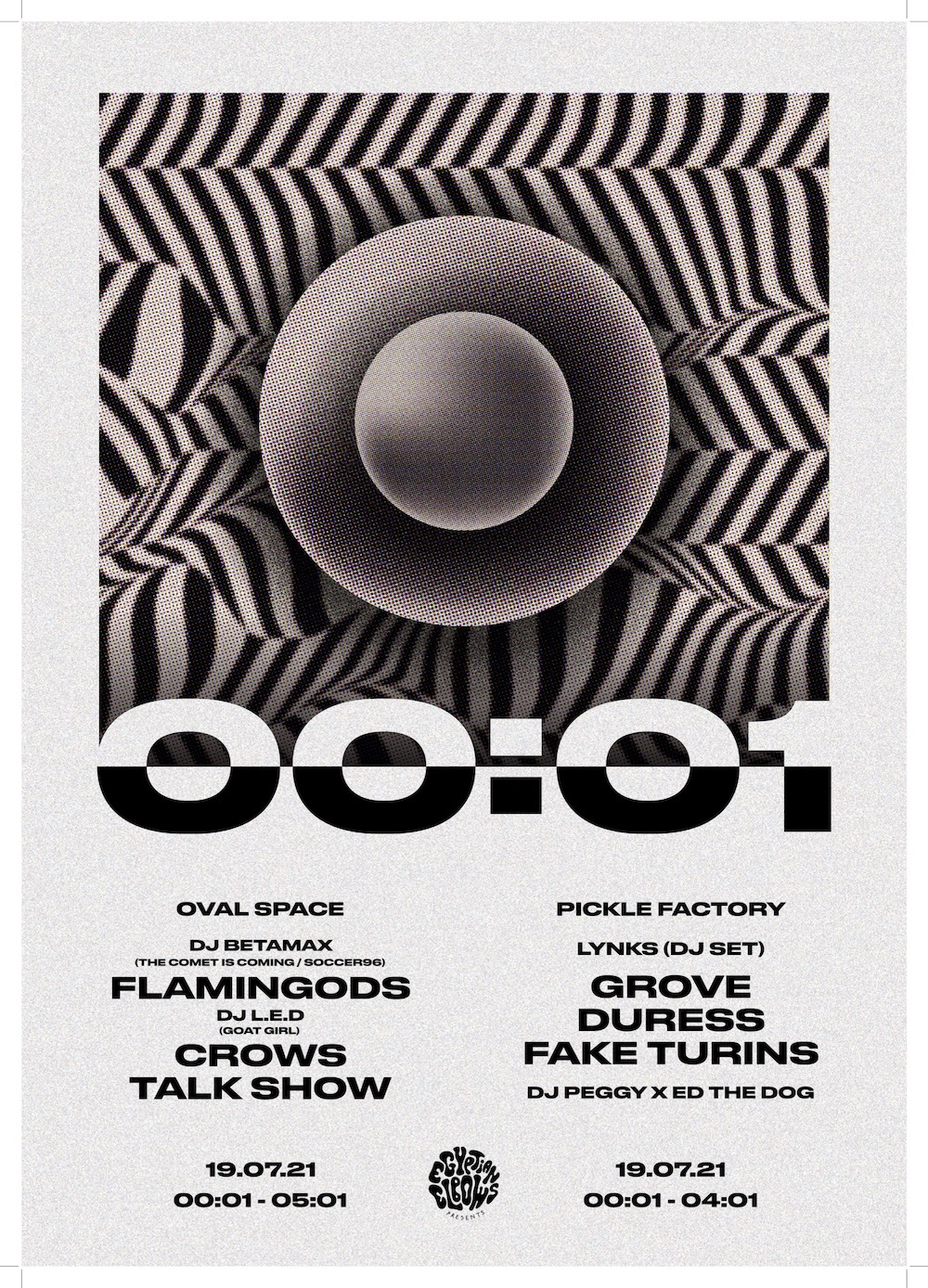 Talk Show, Crows, Lynks and more to play 00:01 Festival
