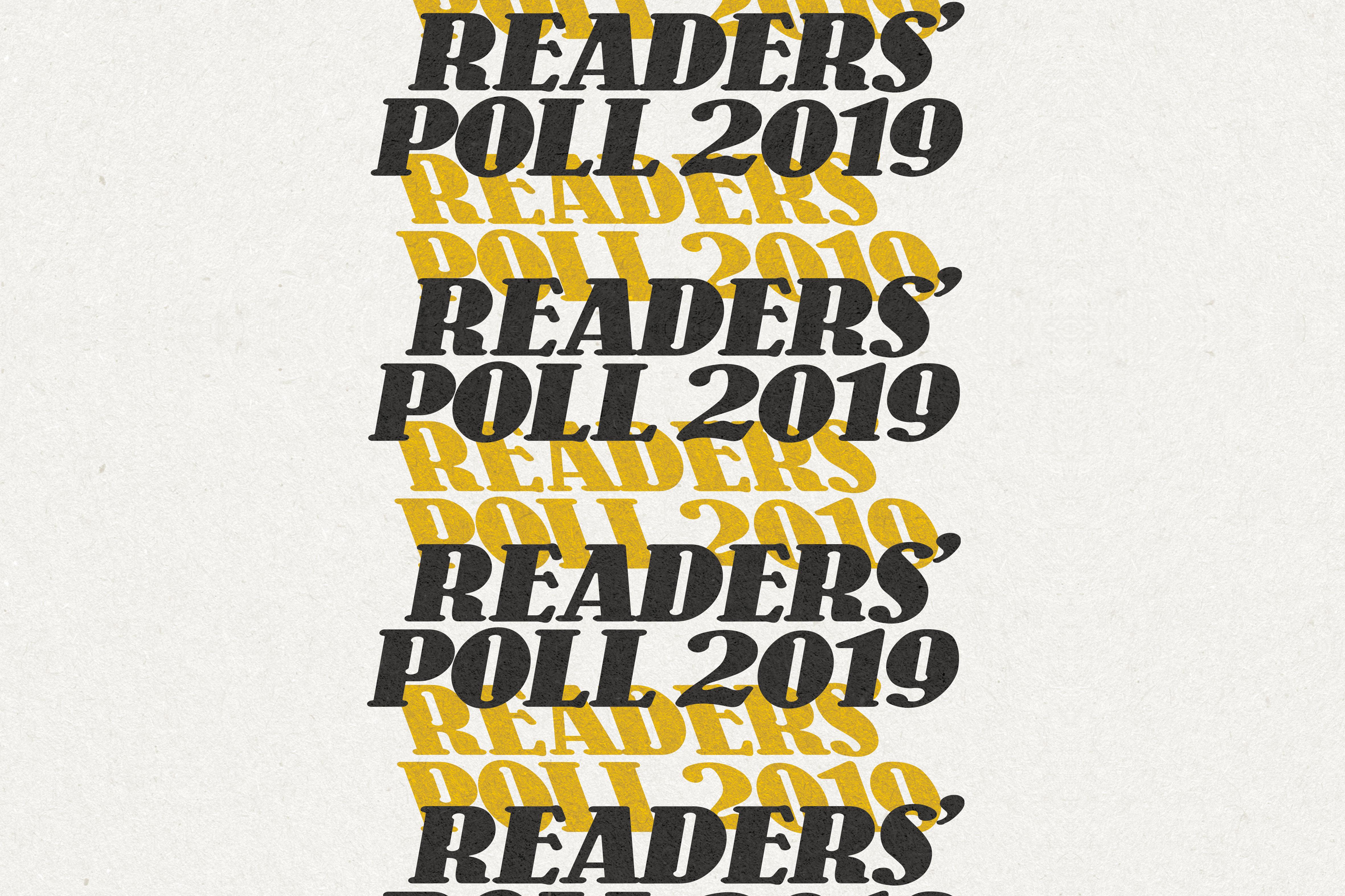Readers' Poll 2019