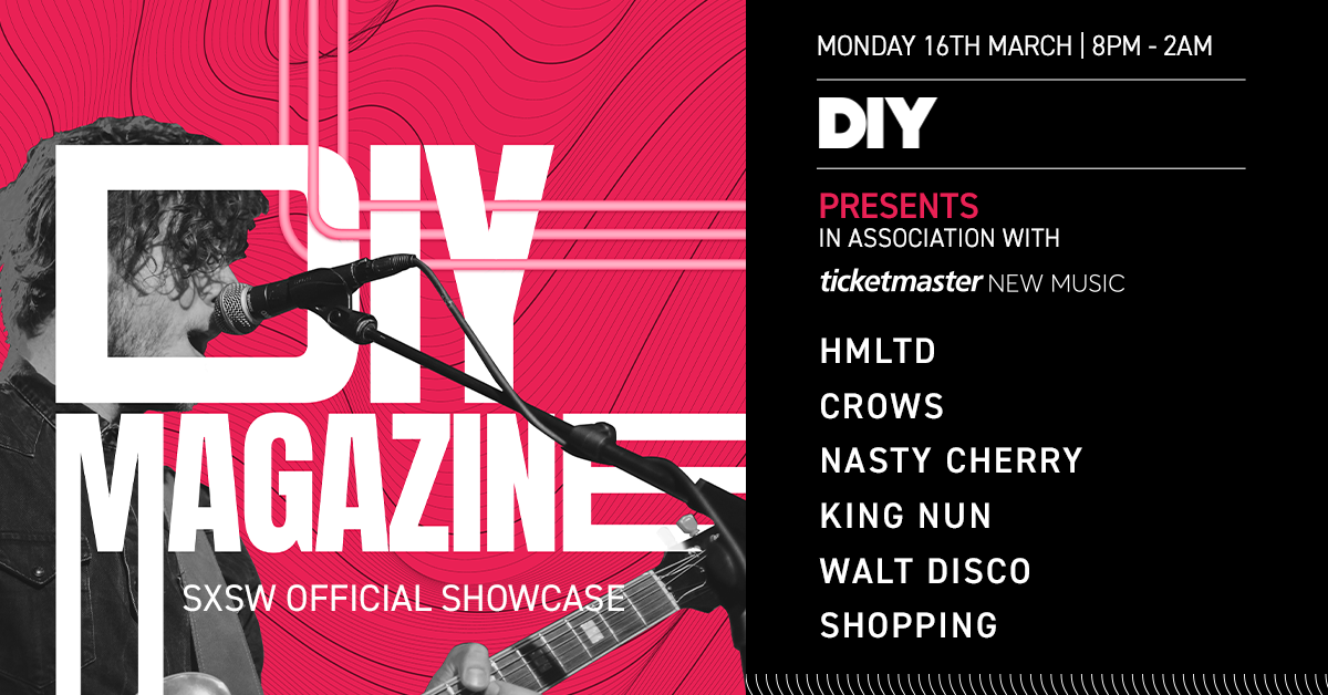 Walt Disco, Nasty Cherry and more to play DIY and Ticketmaster New Music's British Music Embassy showcase at SXSW