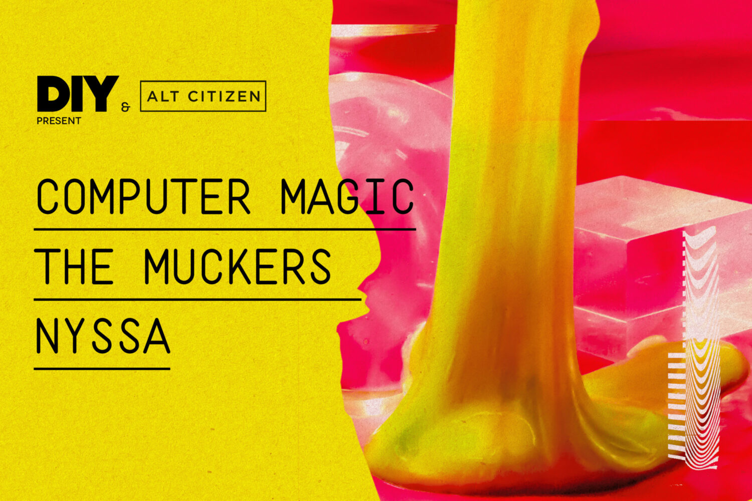 DIY are teaming up with Alt Citizen to launch a new series of gigs in New York!
