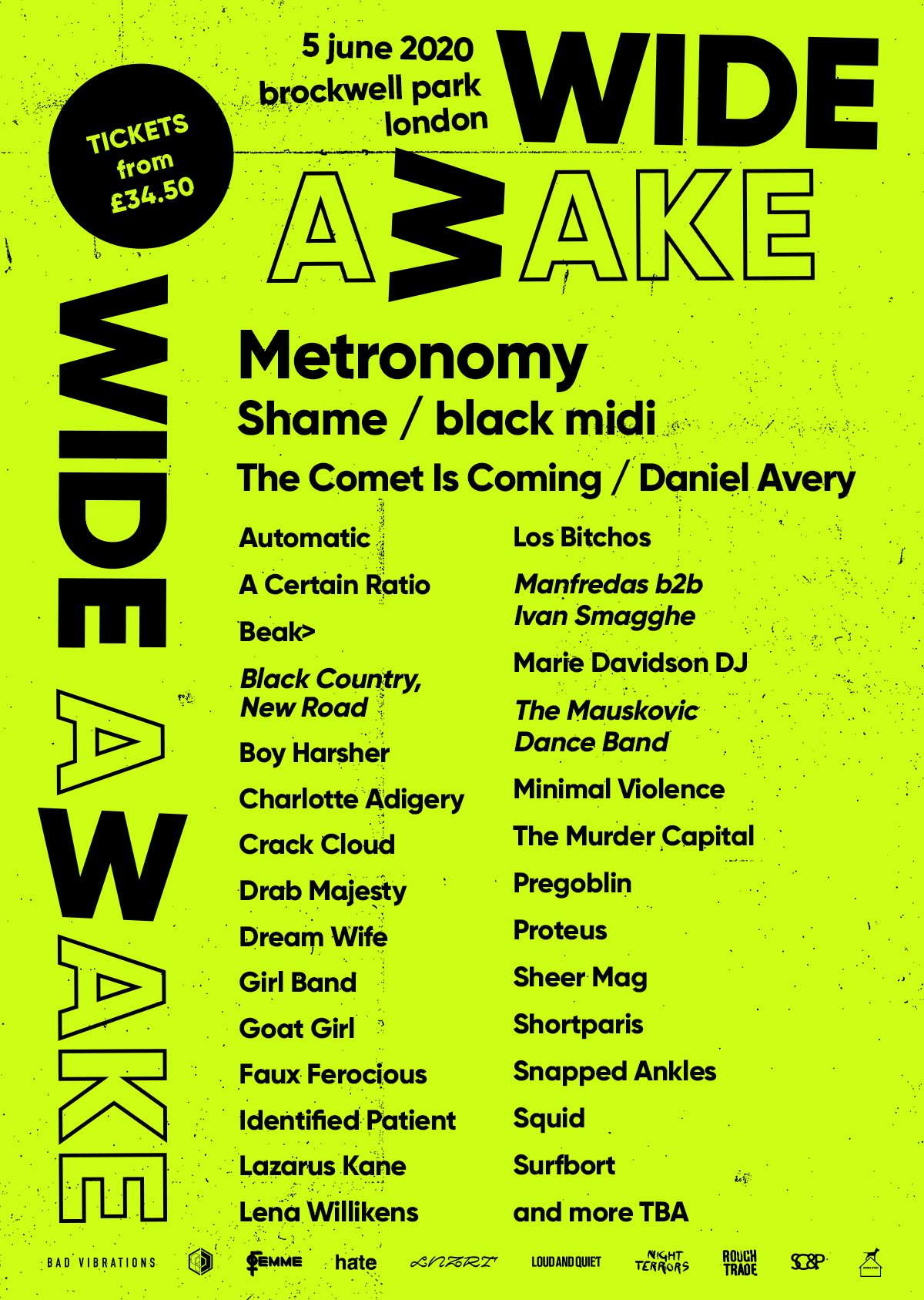 Metronomy, Squid, The Murder Capital and more join Wide Awake lineup