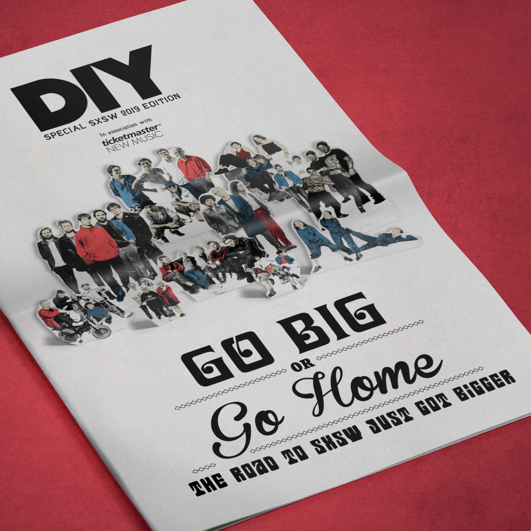 Introducing Go Big Or Go Home - DIY's special edition New Colossus & SXSW newspaper